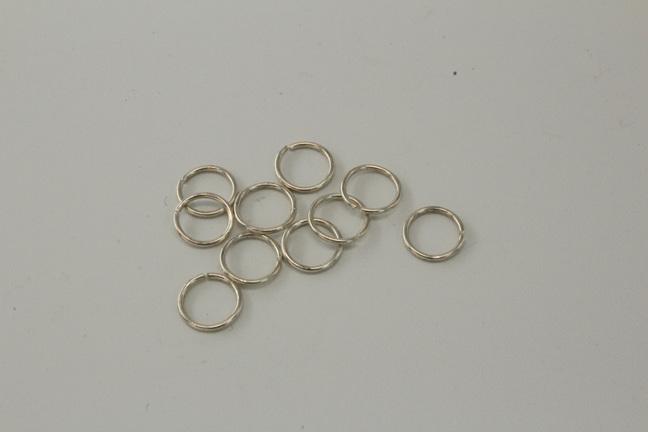 7mm Jumprings - .7mm - Sterling silver