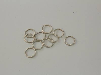 7mm Jumprings - Sterling silver