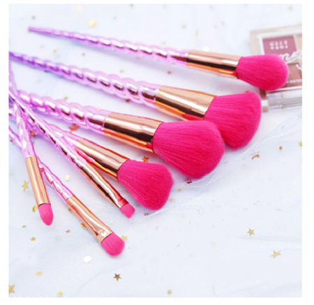 7pc PINK Makeup Brush Set