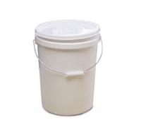 8 x 20 Litre Food Grade Plastic Buckets with Lids