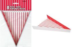 8 x Paper Pizza Trays