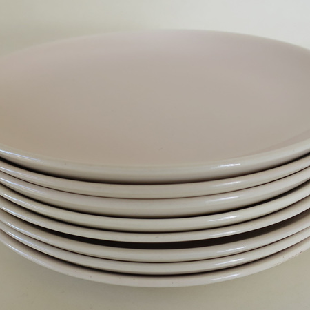 8 x small tea plates