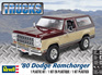Revell 1/24 1980 Dodge Ramcharger SUV Truck