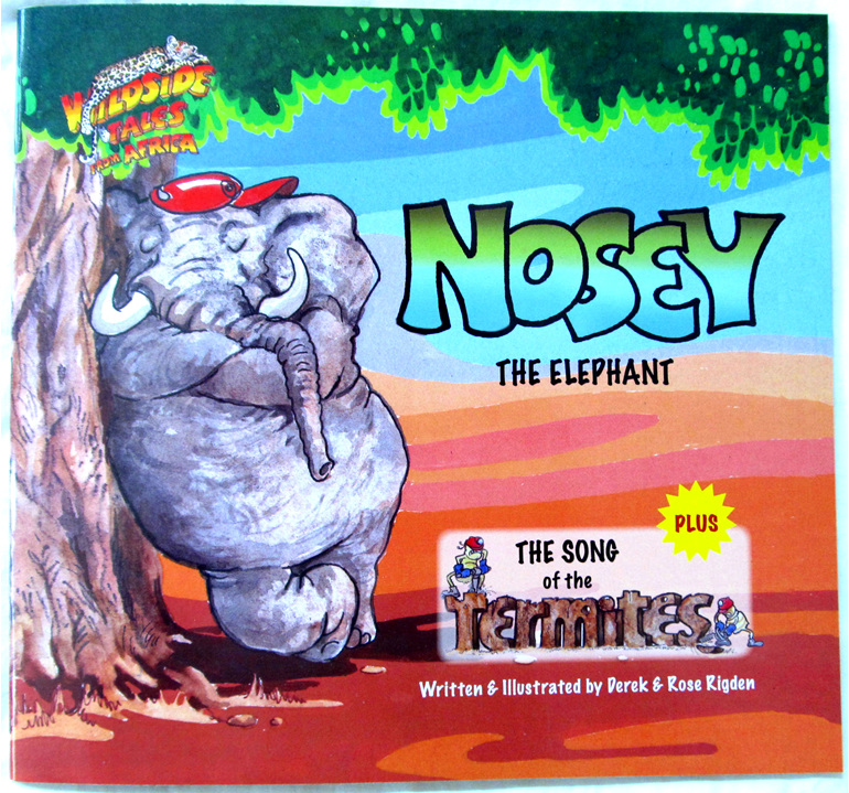 8008N Kids Book Nosey The Elephant