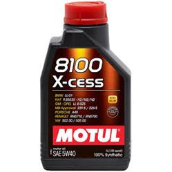 8100 X-Cess 5W40 - 1ltr
