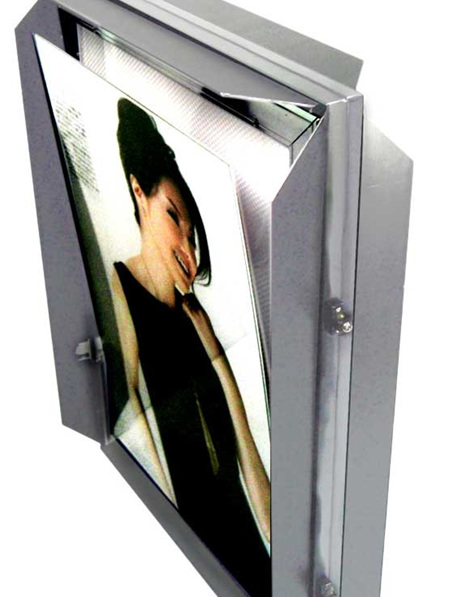 85202DS (Double Sided) A2 Snap Frame Lightframe - 7mm Aluminium Profile