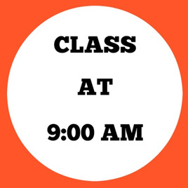 9:00 AM CLASS (Mini Gym -5s)