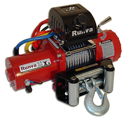9.5XS (9,500lb) 12V Rock Crawl Winch (With Steel Cable)