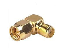90-degree SMA Male to SMA Female Connector