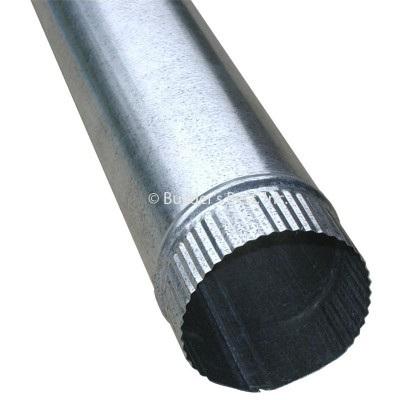 900mm Galvanised Steel Duct 125mm
