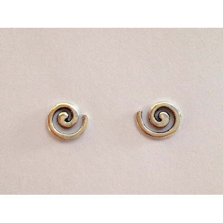 925 Sterling Silver Extra Small Koru Earring