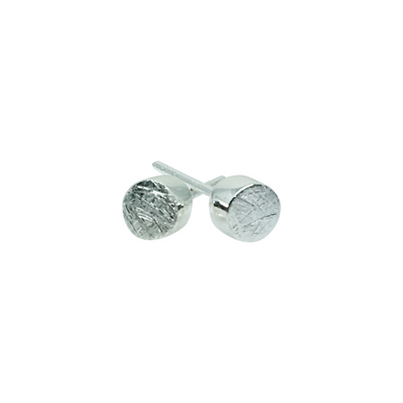 925 Sterling Silver Small Round Earring