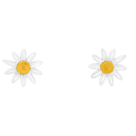 9mm Daisy Stud Earrings