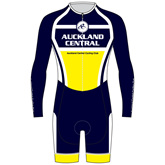 Auckland Central Cycling Club AERO Speedsuit - Long Sleeve