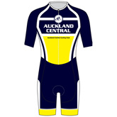 Auckland Central Cycling Club AERO Speedsuit - Short Sleeve