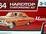 AMT 1/25 64 Mercury Marauder Hardtop Customizing Kit