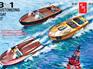 AMT 1/25 Customizing Boat (3-in-1)