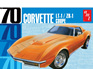 AMT 1/25 1970 Chevy Corvette Coupe