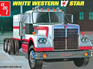 AMT 1/25 White Western Star Semi Tractor