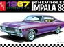 AMT 1/25 '67 Chevy Impala SS
