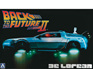 Aoshima 1/24 Delorean Dmc Back To The Future 2