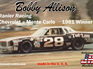 Salvinos JR Models 1/25 Bobby Allison's Chevrolet ® Monte Carlo 1981 Winner
