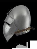 Helmet 14 - 14th Century German 'Klapvisor' Bascinet Type 2
