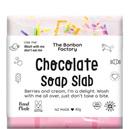 Bonbon Vegan 'chocolate' soap slabs
