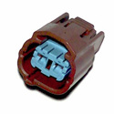 C2S-118J Honda fuel pump connector brown
