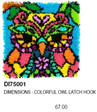 DI75001  Colorful Owl