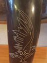 Drinking Horn Type 31 - Engraved Eagle