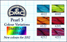 DMC Pearl 5 Colour Variations 6 Pack
