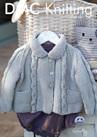 DMF15140L2  DMC Woolly Merino Knitting Pattern - Baby & Toddler's Top