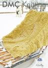 DMF15200L2  DMC Woolly Merino Knitting Pattern - Blanket
