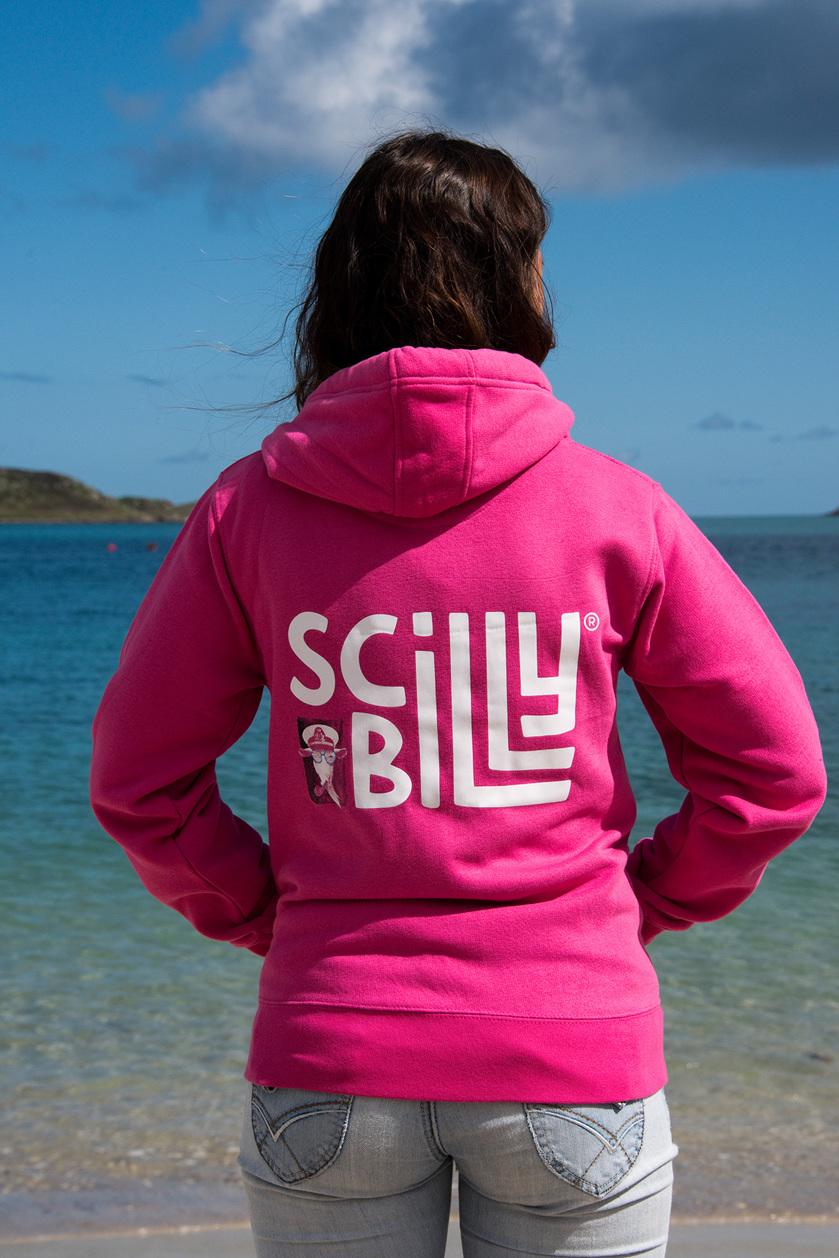 Fuchsia Pink hoodie