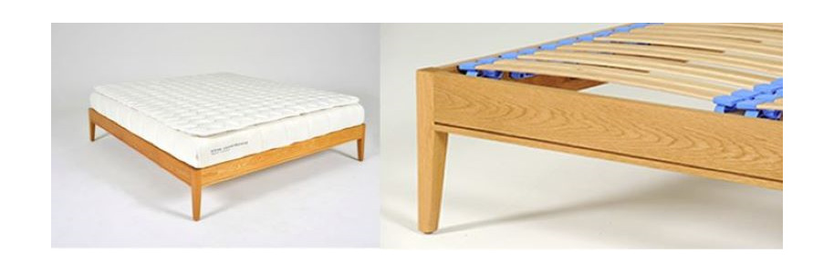 Hilton Bed Base - with Flexi Slats