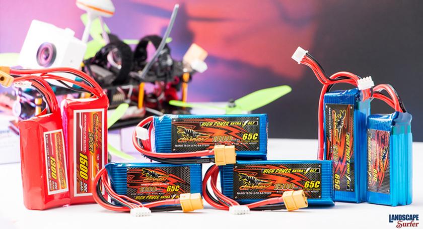 Dinogy range of Lipo batteries