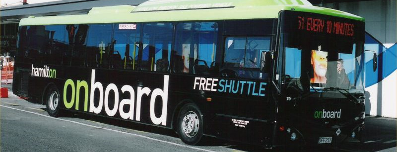 Free CBD Shuttle Bus