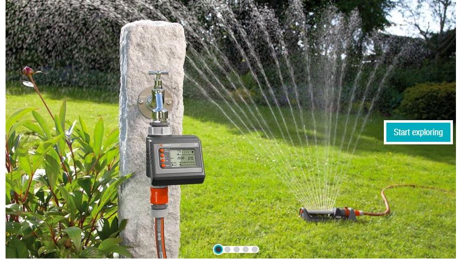 Garden water timers