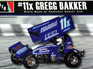 DTR 1/24 11x Gregg Bakker Sprint Car