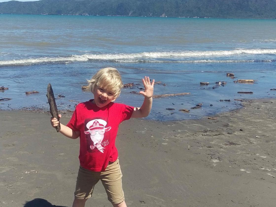 Scilly Billy on the Kapiti Coast