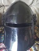 Helmet 16 - 14th Century Visored Bascinet Type 4