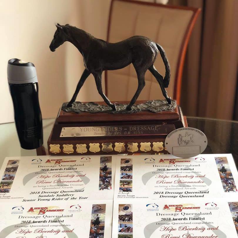 Hope Beerling - Dec 2018 QLD Dressage Awards