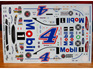 Powerslide 2017 Mobil 1 Ford Fusion Nascar Kevin Harvick Decals