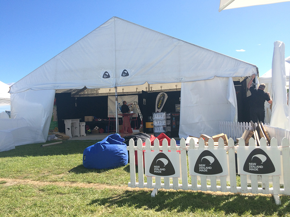 NZ Made Stand at Canterbury A&P Show 2016