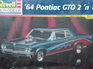 Revell 1/24 64 Pontiac GTO 2n1