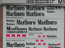 Marlboro Decals for Tamiya 1/20 McLaren Kits