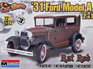 Monogram 1/25 31 Ford Model A 2n1 Rat Rod
