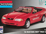 Monogram 1/25 94 Mustang Indy Pace Car