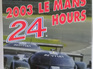 2003 Le Mans 24 Hours by C. Moity & J.M. Teissedre